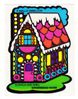 Vintage MELLO SMELLO Scatch and Smell Sniff Stickers GINGERBREAD House