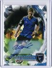 2014 Topps Chrome MLS Autograph Atomic Refractors #72 Clarence Goodson 3 10 Auto