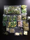 Lot of Green Embellishments Scrapbooking Cards Paper