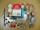 Vintage Junk Drawer Lot of Coins Fountain Pen Knife  Stuff