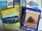 Vintage Lot Train Railroad 2 BOOKS 5 RAILROADER MAGAZINE 1950 1960
