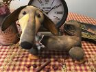 Primitive* Hand-crafted* Dachshund * Doxie* Shelf Sitter* Ornies* Weiner Dog*