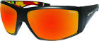 Bomber AH111-RM-RSTA Ahi Bomb Sungalsses Matte Black/ Red Mirror Polarized