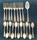 Kirk sons sterling repousse partial set 922 grams total weight