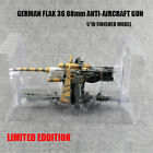 German Flak 36 88mm Anti Aircraft Gun 1 18 Gun easy model finished non diecast