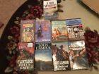 Mixed Lot of 8 Classic Westerns William Johnston Ralph Compton and more