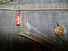 Vintage LEVIS BIG E Lined-Denim-Work-Coat-Jean-Jacke size 38-40