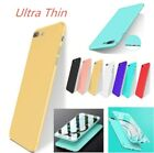 Slim PC Matte Ultra-Thin Rubberized Phone Cover Case Skin for Iphone X 8 7 6 P