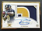 # 25 Todd Gurley 2015 Topps Definitive Framed Auto Patch RC #FRAP-TG