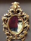 Italian 19th century Venetian mirror carved and gold gilt wood