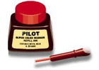 2 Pack Pilot Pen 43700 1oz Refill Ink for Permanent Markers - Red SCRF-RED