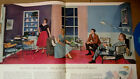 Vintage 1955 Home Decorator Mid Century Modern magazine chairs lamps tables