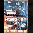 1990 Topps Robocop 2 Shrinkwrapped Wax Box 0f 36 Packs With Store Poster