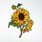 Sunflowers Rockabilly Retro Vintage Tattoo Style DIY Jeans Clothes Iron on Patch