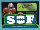 2011 Topps Triple Threads Autograph Jersey #112 Kendall Hunter Rookie 50 49ers