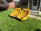 Mid Century Modern Pair Lounge Chairs Folke Ohlsson DUX Style-no markings