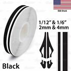 12 Roll Vinyl Pinstriping Pin Stripe Double Line Car Tape Decal Stickers 12mm