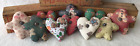 Primitive Ornies Gingerbread Hearts Boys Bowl Fillers Make Do's Prim Ornies