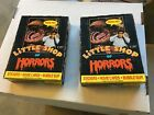 (2) 1986 Topps Little Shop of Horrors 36-pack unopened wax boxes