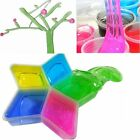 Colorful Clay Slime DIY Non-toxic Crystal Mud Play Transparent Magic Kid Toys EI