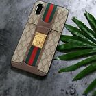 Brown 13Gucci257 Special For iPhone 7plus, iPhone 8plus, iPhhone X case Cover