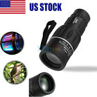 16x52 Optics Zoom Lens Monocular Camping Hiking 16x Telescope Scope Outdoor