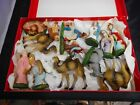 Vintage Nativity Figures From Occupied Japan 15 pcs total