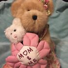 BOYDS BEARS MOMMA BEARLOVE AND BABY  MOM AND ME TAGS EXCELLENT