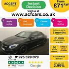 2015 BLACK MERCEDES CLA220 21 CDI AMG SPORT DIESEL AUTO CAR FINANCE FR 71 PW