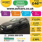 2013 BLACK MERCEDES A180 18 CDI AMG SPORT DIESEL AUTO CAR FINANCE FROM 46 PW