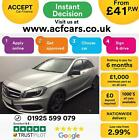 2014 SILVER MERCEDES A180 15 CDI AMG SPORT DIESEL MANUAL CAR FINANCE FROM 41 PW