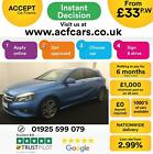 2015 BLUE MERCEDES A200 21 CDI SPORT DIESEL MANUAL CAR FINANCE FROM 33 PW