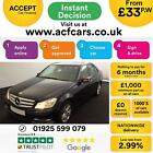 2013 BLUE MERCEDES C220 21 CDI EXECUTIVE SE DIESEL SALOON CAR FINANCE FR 33 PW