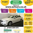 2012 WHITE MERCEDES E220 21 CDI EXECUTIVE SE DIESEL SALOON CAR FINANCE FR 37PW