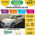 2015 WHITE AUDI A1 14 TFSI 125 S LINE PETROL MANUAL 3DR CAR FINANCE FROM 41 P W
