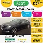 2012 BLACK MERCEDES C180 18 CGI AMG SPORT PETROL COUPE CAR FINANCE FROM 37 P W