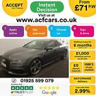 2014 GREY AUDI A7 SPORTBACK 30 TDI QUATTRO BLACK EDITION CAR FINANCE FR 71 PW