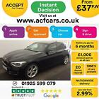 2015 BLACK BMW 118D 20 SPORT DIESEL MANUAL 5DR HATCH CAR FINANCE FR 37 PW