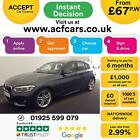 2015 GREY BMW 125D 20 M SPORT DIESEL AUTO 5DR HATCH CAR FINANCE FR 67 PW