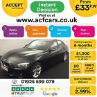 2014 BLACK BMW 316i 16 SE PETROL MANUAL SALOON CAR FINANCE FR 33 PW