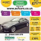 2015 GREY BMW 420D GRAN COUPE 20 M SPORT DIESEL AUTO 5DR CAR FINANCE FR 71 PW