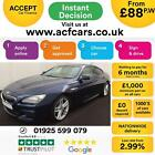 2015 BLUE BMW 640D GRAN COUPE 30 M SPORT DIESEL AUTO 4DR CAR FINANCE FR 88 PW