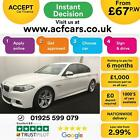 2016 WHITE BMW 520D 20 M SPORT DIESEL AUTO 4DR SALOON CAR FINANCE FR 67 PW