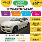 2014 WHITE BMW 435D GRAN COUPE 30 X DRIVE M SPORT DIESEL CAR FINANCE FR 67 PW
