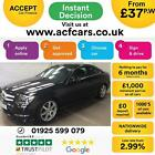 2014 BLACK MERCEDES C220 21 CDI AMG SPORT EDITION COUPE CAR FINANCE FR 37 PW