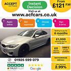 2015 SILVER BMW M4 30 T 425 BHP DCT PETROL AUTO 2DR COUPE CAR FINANCE FR 121PW