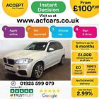 2015 WHITE BMW X5 30 XDRIVE30D M SPORT 7 SEAT DIESEL 4X4 CAR FINANCE FR 100 PW