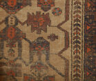 Antique Balouch Persian Rug rare Bohemian Look Shabby Chic 3.6 x 5 Baluch AS IS