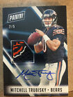 2018 Panini National Convention Team Logo Patch Autograph Mitchell Trubisky #2 5
