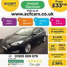 2015 BLACK FORD FOCUS 15 TDCI TITANIUM X DIESEL 5DR HATCH CAR FINANCE FR 33 PW